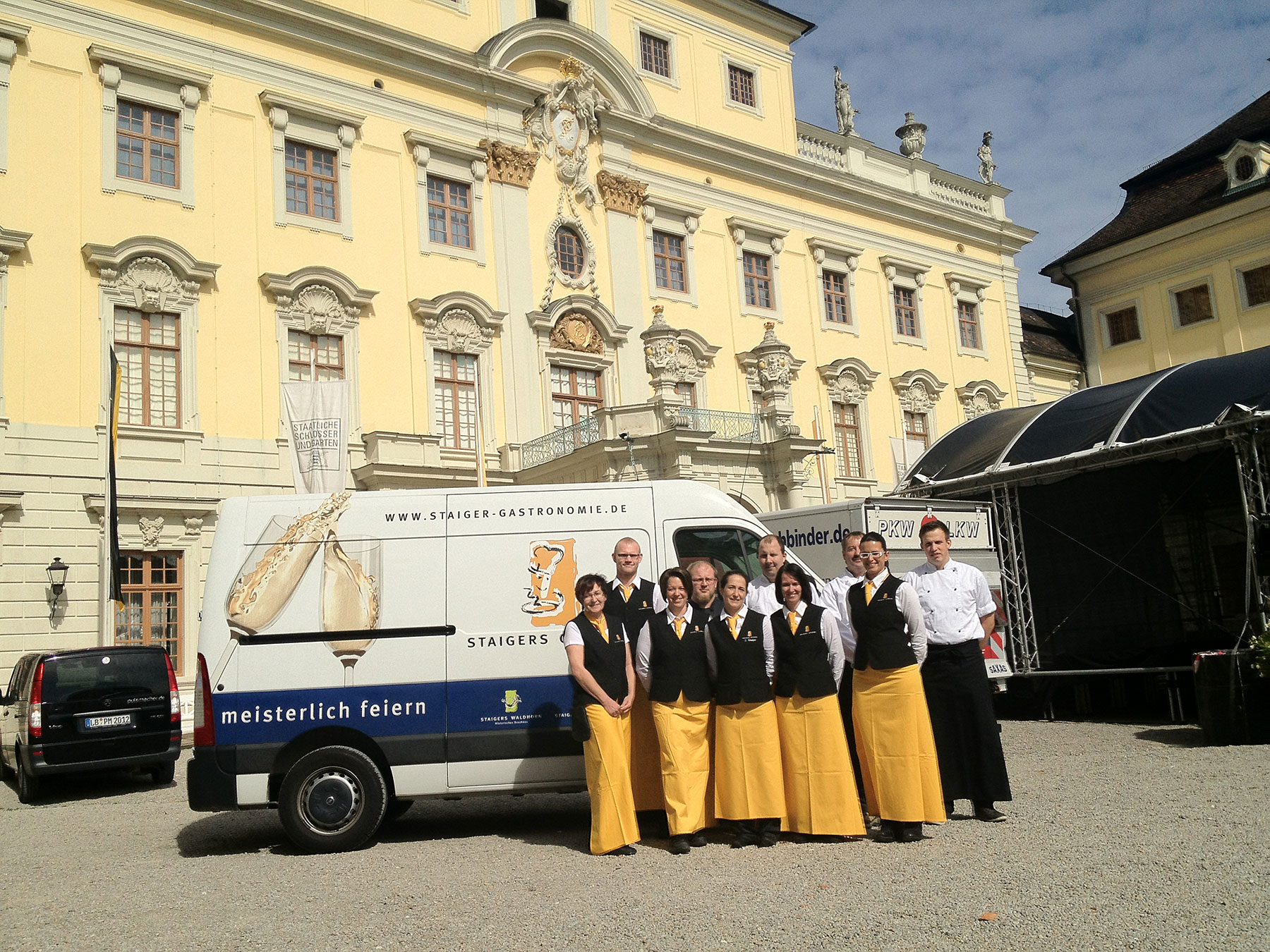 Catering Team in Ludwigsburg